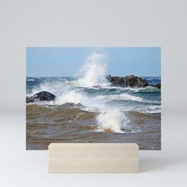 Surf's Spray Mini Art Print