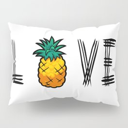 Love Pineapple Pillow Sham
