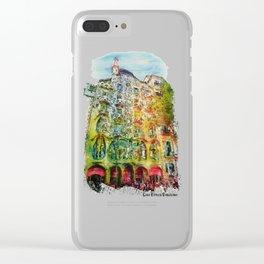 Casa Batllo Barcelona Clear iPhone Case