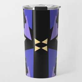 Dface Pattern 2 Travel Mug