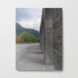 After a lot of stairs and more stairs Metal Print