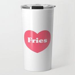 Heart Fries Travel Mug