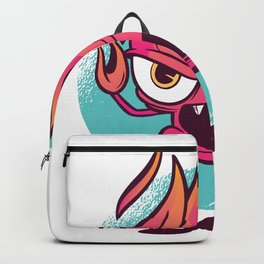 End of the race flame Backpack