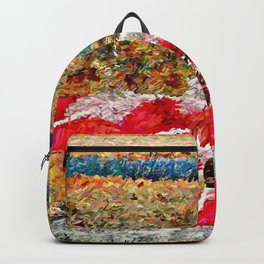 Beach Images Abstract Backpack