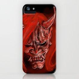 Hannya 3 iPhone Case