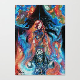 Mass Effect 3: I'll Be Watching Over You Canvas Print