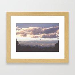 Rocky Mountain Lavendar Framed Art Print