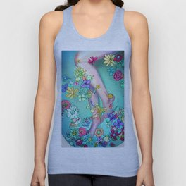Flower Bath 2 Unisex Tank Top
