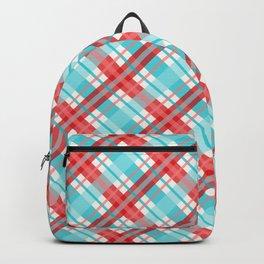 Gingham Picnic Backpack