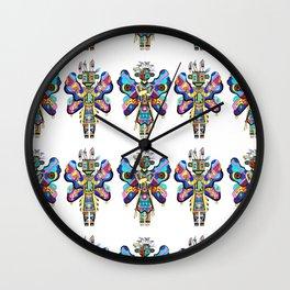 Kachina Butterfly 2 Wall Clock