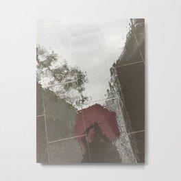 red + rain Metal Print
