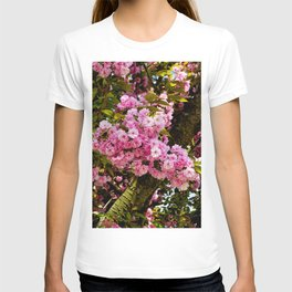Flower explosion T-shirt