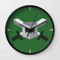 archer Wall Clocks featuring SSG - Archer by ClaunchDesign