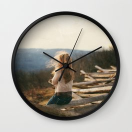 Into the wild.  Wall Clock