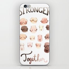 Stronger Together iPhone Skin