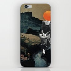 Lady Moon Head iPhone & iPod Skin