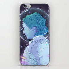 Astronaut Girl iPhone & iPod Skin