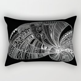 Doodle art seashell Rectangular Pillow