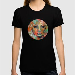 Little Colorgirl Original Painting T-shirt