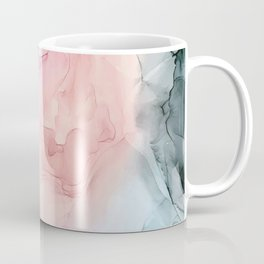 Dark and Pastel Ethereal- Original Fluid Art Painting Coffee Mug