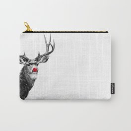 Christmas - Red Nose Reindeer Carry-All Pouch