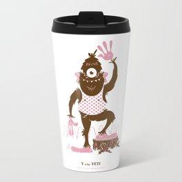 Y is for Yeti Travel Mug