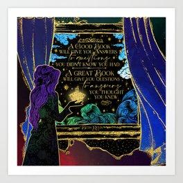 Give the Dark my Love Art Print