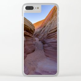 Colorful Canyon- 2, Valley of Fire State Park, Nevada Clear iPhone Case