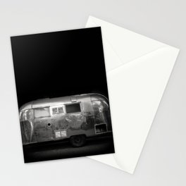 Vintage Airstream Camper Trailer Stationery Cards