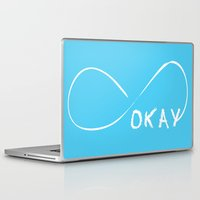 the fault Laptop & iPad Skins featuring Fault In Our Stars - Okay by tangofox