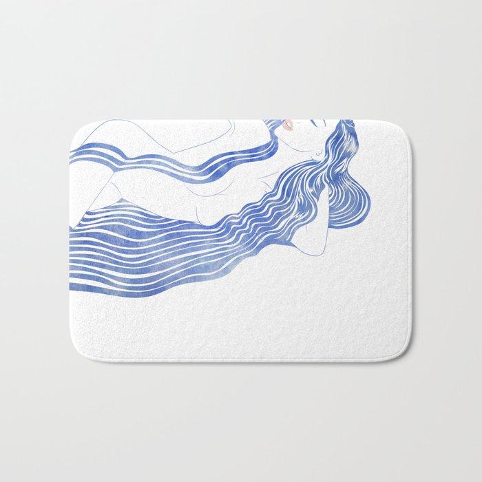 Water Nymph XXXVI Bath Mat