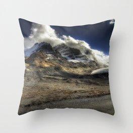 Glacier Expressif Throw Pillow