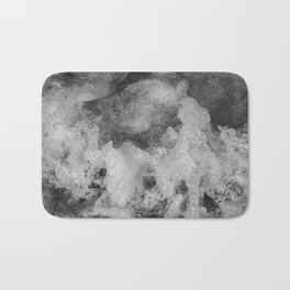 Black and White, Water Collection I  Bath Mat