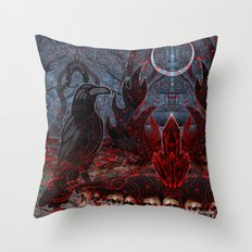 Twilight Garden  Throw Pillow