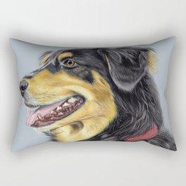 Dog Portrait 01 Rectangular Pillow
