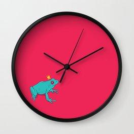 Frawg Wall Clock
