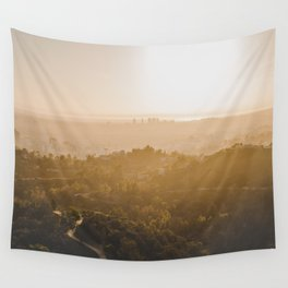 Golden Hour - Los Angeles, California Wall Tapestry