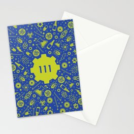 Fallout 4 Vault 111 Stationery Cards