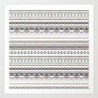 navajo Art Prints featuring Navajo by Julie