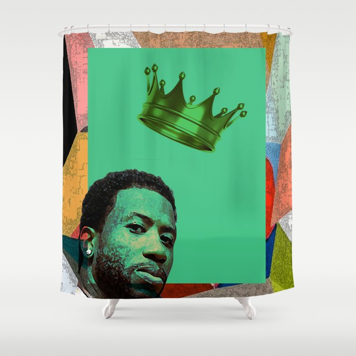 G U C I M A N E HIP HOP Shower Curtain