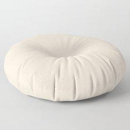 Almond #EFDECD Floor Pillow