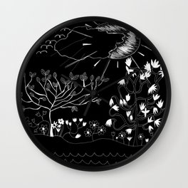 Perfect Imperfection (Inverted version) Wall Clock