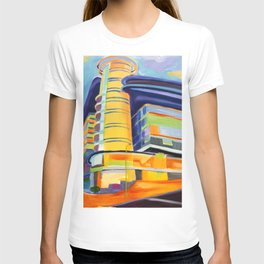 architecture abstract T-shirt