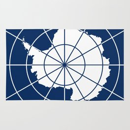 Flag of Antarctica Rug