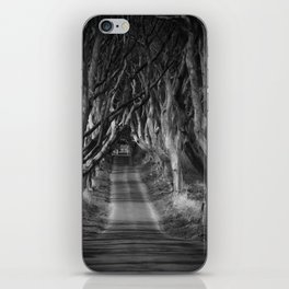 The Dark Hedges iPhone Skin