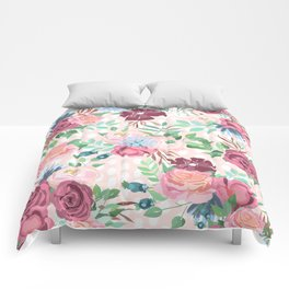 floral xii Comforters