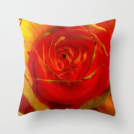 Amber Rose Throw Pillow