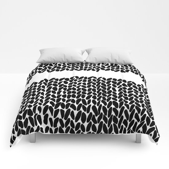 Missing Knit Comforters