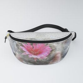 Pink cactus flower Fanny Pack