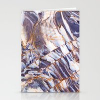 geology Stationery Cards featuring Marble by Patterns and Textures
